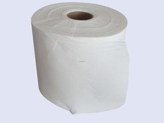 白色卷状擦拭纸(轧花)
