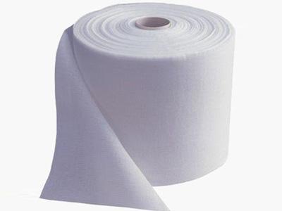 白色卷状擦拭纸(不轧花)